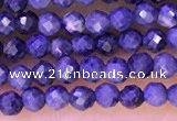 CTG1333 15.5 inches 2mm faceted round sapphire beads wholesale