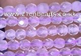 CTG1404 15.5 inches 2mm faceted round lavender amethyst beads wholesale