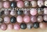 CTG2028 15 inches 2mm,3mm natural rhodonite beads