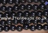 CTG2060 15 inches 2mm,3mm black agate gemstone beads