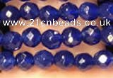 CTG2223 15 inches 2mm,3mm faceted round candy jade beads