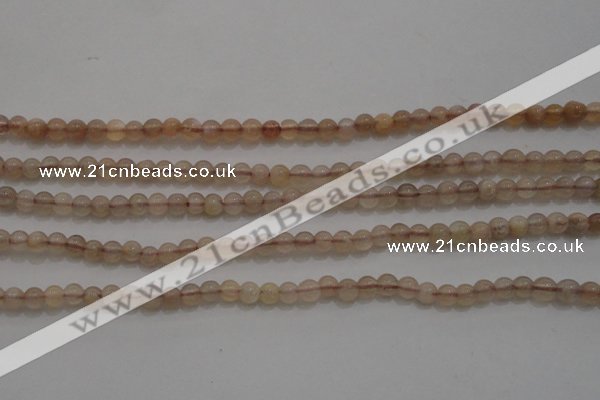 CTG257 15.5 inches 3mm round tiny moonstone gemstone beads