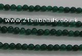CTG432 15.5 inches 2mm round tiny dyed candy jade beads wholesale