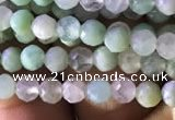 CTG822 15.5 inches 3mm faceted round tiny Australia chrysoprase beads