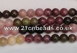 CTO372 15.5 inches 6mm round natural tourmaline gemstone beads