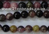 CTO453 15.5 inches 6mm round natural tourmaline gemstone beads