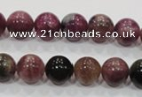 CTO65 15.5 inches 10mm round natural tourmaline gemstone beads