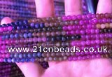 CTO665 15.5 inches 4mm round natural tourmaline gemstone beads