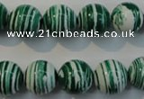 CTU2044 15.5 inches 12mm round synthetic turquoise beads