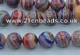 CTU241 16 inches 10mm round imitation turquoise beads wholesale