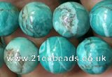 CTU3012 15.5 inches 8mm round South African turquoise beads