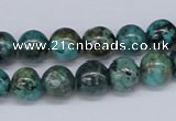 CTU428 15.5 inches 10mm round African turquoise beads wholesale