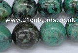 CTU432 15.5 inches 18mm round African turquoise beads wholesale