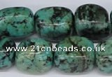 CTU439 15.5 inches 14*18mm nuggets African turquoise beads wholesale