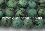 CTU576 15.5 inches 6mm round african turquoise beads wholesale