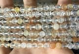CTZ11 15.5 inches 6mm round natural topaz gemstone beads