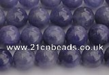 CTZ504 15.5 inches 10mm round natural tanzanite gemstone beads