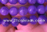 CTZ511 15.5 inches 4mm round natural tanzanite gemstone beads