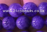 CTZ514 15.5 inches 7mm round natural tanzanite gemstone beads