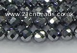 CTZ611 15.5 inches 6mm faceted round terahertz beads wholesale