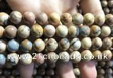 CVJ04 15.5 inches 10mm round venus jasper beads wholesale