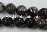 CWJ205 15.5 inches 14mm round wood jasper gemstone beads wholesale