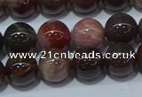 CWJ503 15.5 inches 10mm round Xinjiang wood jasper beads wholesale