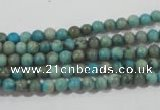 CXH100 15.5 inches 4mm round dyed Xiang He Shi gemstone beads