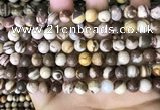 CZJ292 15.5 inches 8mm round brown zebra jasper beads wholesale