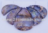 NGP96 Dyed imperial jasper gemstone pendants set jewelry wholesale