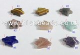 NGP9737 13*18mm  mixed gemstone pendants wholesale