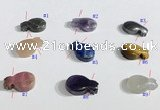 NGP9738 10*16mm  mixed gemstone pendants wholesale